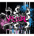 grunge urban background vector image vector image