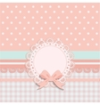 card for little girls vector image