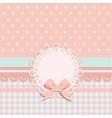 card for little girls vector image