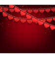 Love party celebration background vector image