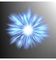 Lighting blue energy EPS 10 vector image vector image
