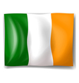 Flag of Ireland vector image
