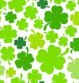 Four-leaf clover background vector image