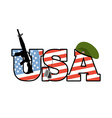 US Army emblem Flag of United States Military vector image