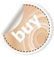 buy word on business wooden app icon vector image vector image