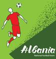 Albania 4 vector image