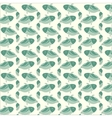 fish creative pattern vector image