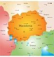 Macedonia vector image vector image