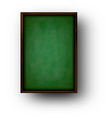 Background with green blackboard vector image