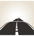symbol of the road vector image vector image