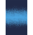 graffiti spray effect gradient element in blue vector image