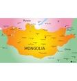 Mongolia vector image vector image