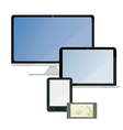 A set of electronic technology vector image