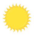 sun design vector image