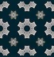 Sketch baroque damask pattern floral pattern vector image