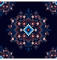 seamless festive tribal pattern vector image
