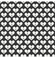 Geometric romantic line seamless pattern with vector image vector image