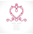 decorative elegant frame vector image