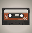 audio cassette tape axle icon vector image vector image
