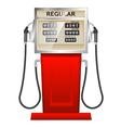 fuel pump vector image