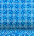 swimming pool ceramic vector image