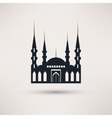Mosque building a religious symbol icon vector image