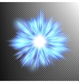Star burst with sparkles EPS 10 vector image