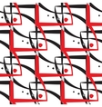 Abstract geometric pattern A seamless background vector image