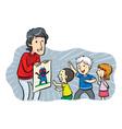 Children Heroes vector image