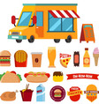 food track vector image