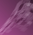 Abstract purple background with geometric vector image