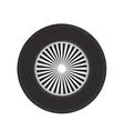 wheel icon vector image vector image