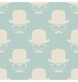 Vintage hipster symbol seamless pattern vector image