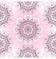 Vintage seamless pink pattern vector image