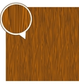 Wood texture background - light brown vector image