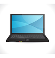 Laptop design vector image vector image