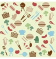 Barbeque pattern vector image