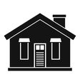 House icon simple style vector image