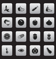 set of 16 editable kitchenware icons includes vector image