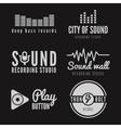 Set of logo badgelabel sticker emblem print vector image