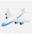 Plane isometric 3d icon vector image