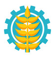 agronomy icon vector image