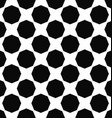 Abstract monochrome octagon pattern background vector image