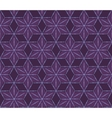 retro violet flowers pattern vector image