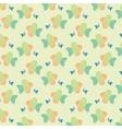 colour fish pattern vector image