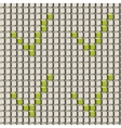 Abstract seamless pattern with grey cubes and vector image