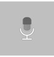 microphone computer symbol vector image