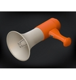 realistic megaphone isometric sign vector image