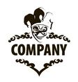 Logo joker Vector Image