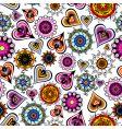 funky design elements background vector image vector image